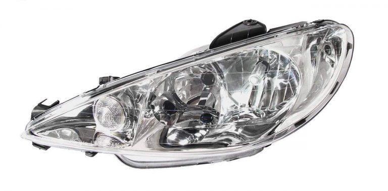 چراغ جلو مدرن مدل 206 مناسب برای پژو 206بسته 2عددی