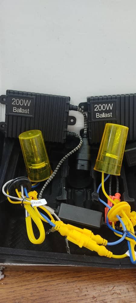 زنون 200w (رادیاتوری)بالاست ballast